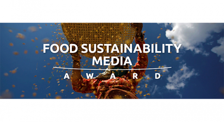 Food Sustainability Media Award Competition 2018
