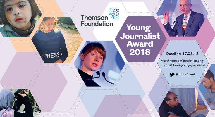 Thomson Foundation Young Journalist FPA Award 2018